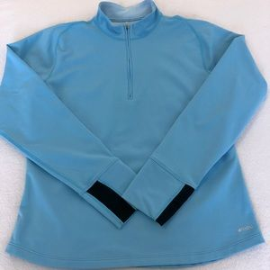 MEC 1/4 Zip Long Sleeve Polartec Base Layer, L